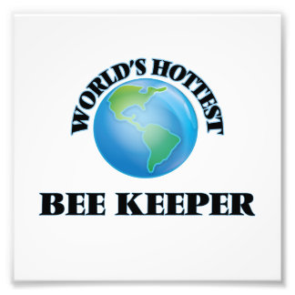 World's Hottest Bee Keeper Photo Print