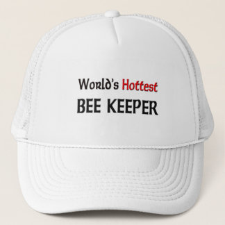Worlds Hottest Bee Keeper Trucker Hat