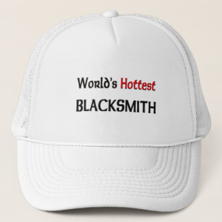 Worlds Hottest Blacksmith Trucker Hat
