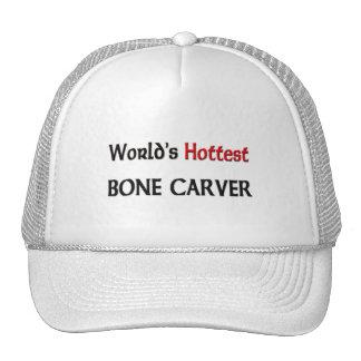 Worlds Hottest Bone Carver Trucker Hats