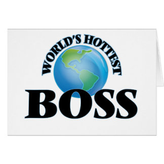World's Hottest Boss Cards