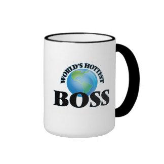 World's Hottest Boss Mugs
