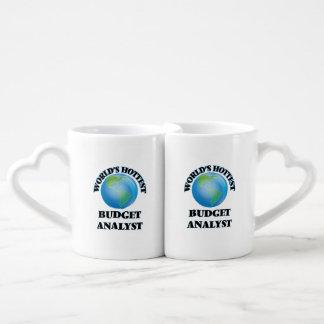 World's Hottest Budget Analyst Lovers Mug Set