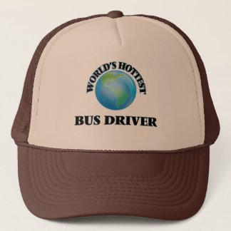 World's Hottest Bus Driver Trucker Hat