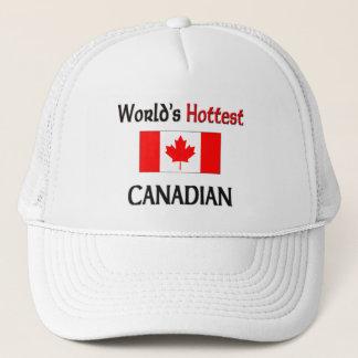 World's Hottest Canadian Trucker Hat