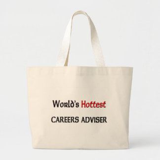 Worlds Hottest Careers Adviser Tote Bags