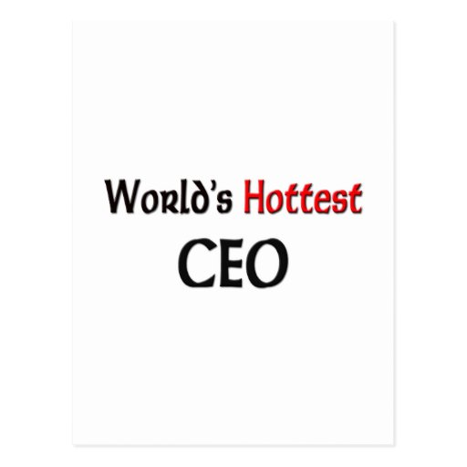 Worlds Hottest Ceo Postcards