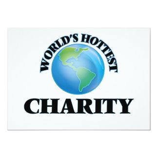 World's Hottest Charity Custom Invite