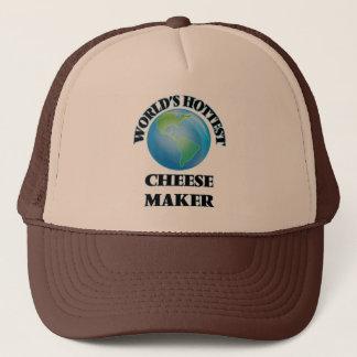 World's Hottest Cheese Maker Trucker Hat