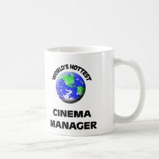 World's Hottest Cinema Manager Mugs