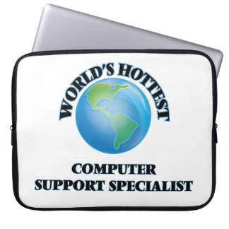 World's Hottest Computer Support Specialist Laptop Sleeve