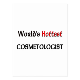 Worlds Hottest Cosmetologist Postcards
