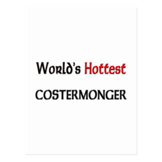 Worlds Hottest Costermonger Post Card