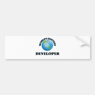 World's Hottest Developer Bumper Stickers