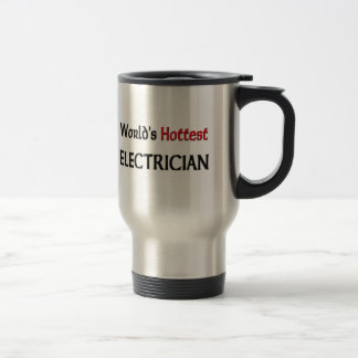Worlds Hottest Electrician Stainless Steel Travel Mug