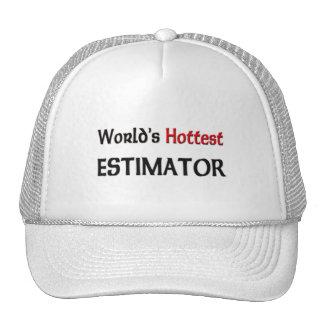 Worlds Hottest Estimator Hats