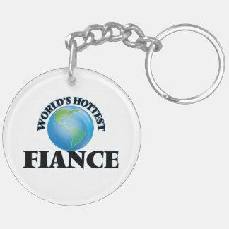 World's Hottest Fiance Keychain