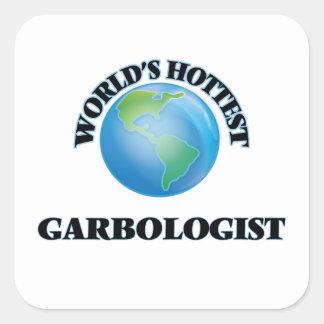 World's Hottest Garbologist Stickers