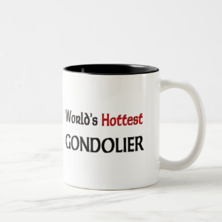 Worlds Hottest Gondolier Two-Tone Coffee Mug