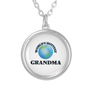 World's Hottest Grandma Personalized Necklace