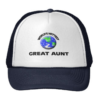 World's Hottest Great Aunt Mesh Hats