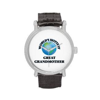 World's Hottest Great Grandmother Wristwatch