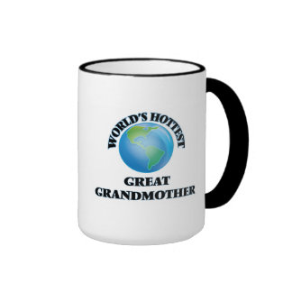 World's Hottest Great Grandmother Mugs