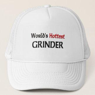 Worlds Hottest Grinder Trucker Hat