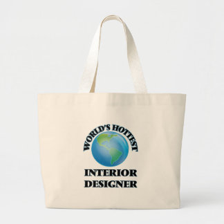 World's Hottest Interior Designer Jumbo Tote Bag