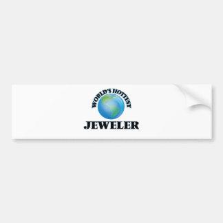 World's Hottest Jeweler Bumper Stickers