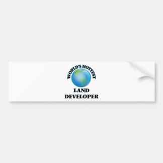 World's Hottest Land Developer Bumper Sticker