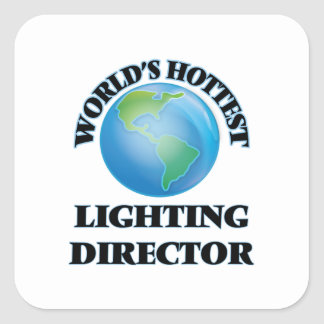 World's Hottest Lighting Director Sticker