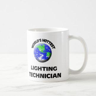 World's Hottest Lighting Technician Coffee Mug