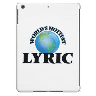 World's Hottest Lyric iPad Air Cases