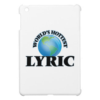 World's Hottest Lyric iPad Mini Covers
