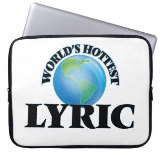 World's Hottest Lyric Computer Sleeves