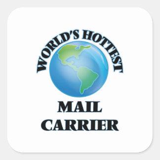 World's Hottest Mail Carrier Sticker