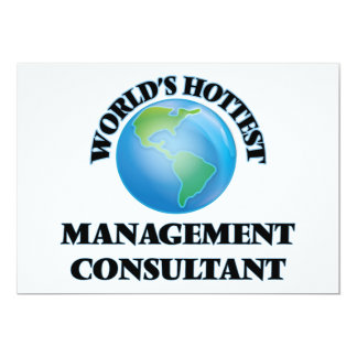 World's Hottest Management Consultant Personalized Announcement