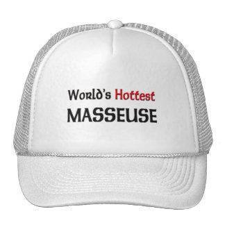 Worlds Hottest Masseuse Mesh Hat