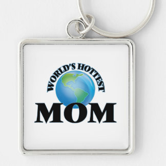 World's Hottest Mom Keychains