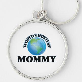 World's Hottest Mommy Keychain