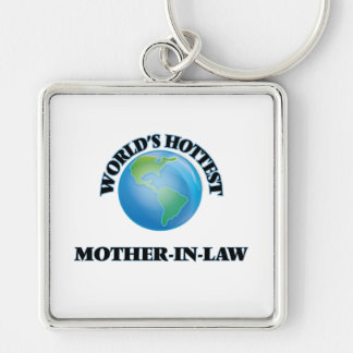 World's Hottest Mother-in-Law Keychain