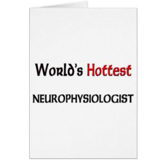 Worlds Hottest Neurophysiologist Card