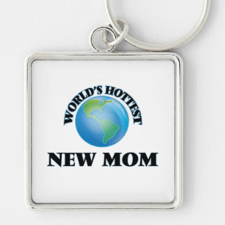 World's Hottest New Mom Keychains