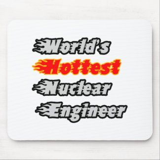 World's Hottest Nuclear Engineer Mousepads