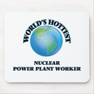 World's Hottest Nuclear Power Plant Worker Mousepads