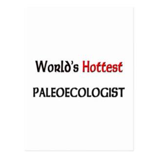 Worlds Hottest Paleoecologist Postcard
