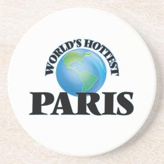 World's Hottest Paris Drink Coasters