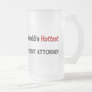 Worlds Hottest Patent Attorney Mug