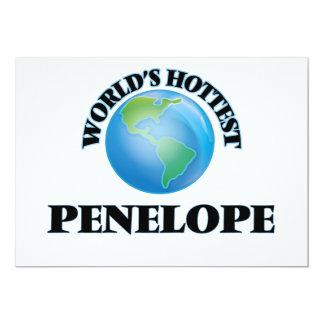 World's Hottest Penelope Invitation Cards